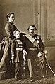 Napoleon III with his family.jpg