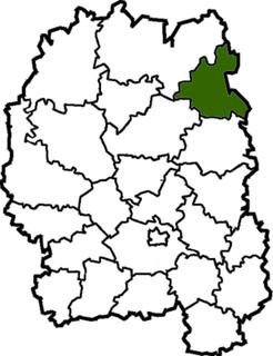 Narodychi Raion Former subdivision of Zhytomyr Oblast, Ukraine