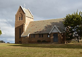 Narrawa Town in New South Wales, Australia