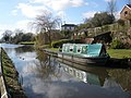 Narrowboat, at Sampford Peverell - geograph.org.uk - 1175621.jpg
