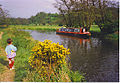 Narrowboat on the River Wey at Farncombe. - geograph.org.uk - 114147.jpg