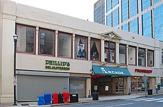 Nashville Arcade - 5th Avenue facade