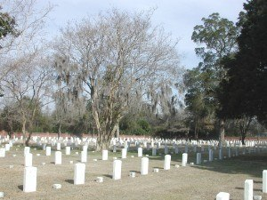 National Register of Historic Places listings in Florence County, South Carolina - Image: Natcemetery 9326