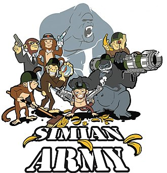 Chaos engineering - Simian Army logo by Netflix