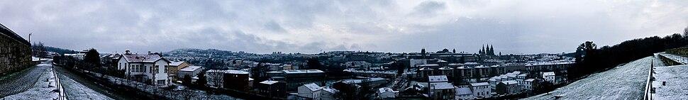 Nevarada en Compostela.