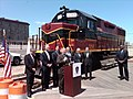 New Bedford, Lt. Governor Murray Announces Rail Grants, April 30, 2013 (8695436821).jpg