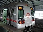 Delhi metro, operated by the Delhi Metro Rail Corporation Limited