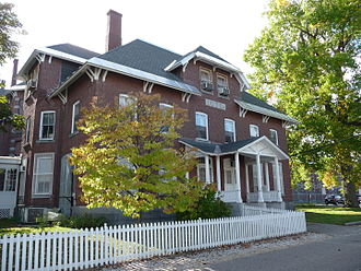 Edward Dow (architect) - New Hampshire State Prison, Concord, 1878.