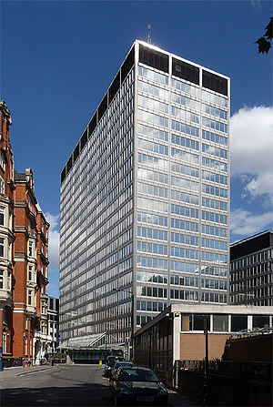 Scotland Yard - The former New Scotland Yard building in Victoria Street