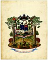 New Zealand Coat of Arms submission - Labor Omnia Vincit (1908).jpg