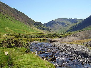 Newlands Beck river in the United Kingdom
