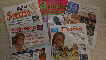 Newspapers Of Cape Verde Including Expresso Das Ilhas A Nação And Já