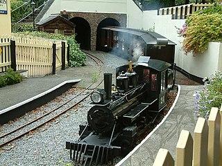 Bickington Steam Railway miniature railway in Devon, England