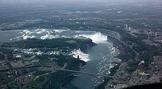 Canada Cataratas Del Niagara Mapa.Cataratas Del Niagara Wikipedia La Enciclopedia Libre