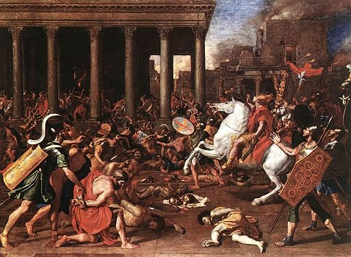 Nicolas Poussin - The Destruction of the Temple at Jerusalem - WGA18301