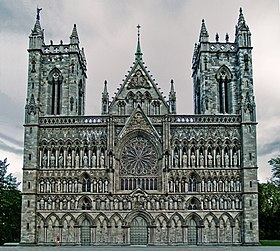 Image illustrative de l'article Cathédrale de Nidaros