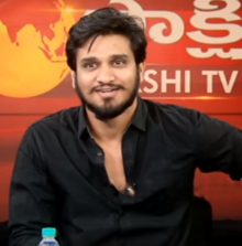 Nikhil at an interview for the movie Keshava.png