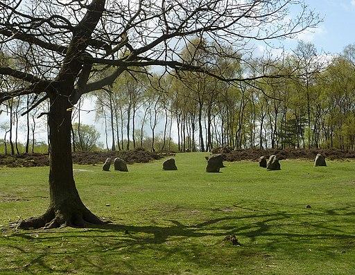 Nine Ladies stone circle, Stanton Moor - geograph.org.uk - 2360408
