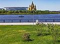 Nizhny Novgorod. View of the Stadium and the Alexander Nevsky Cathedral.jpg
