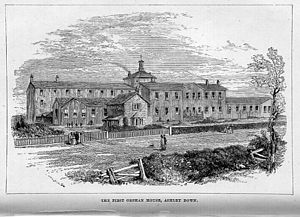 New Orphan Houses, Ashley Down, Bristol - The first Orphan House at Ashley Down