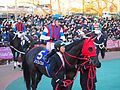 Nonkono Yume and Christophe Lemaire in Tokyo Daishoten Day at Oi racecourse (31836456412).jpg