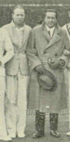Norman Farquharson - Norman Farquharson (left) with Béla von Kehrling