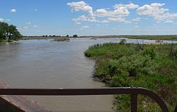 North Platte River at Lisco bridge DS.JPG