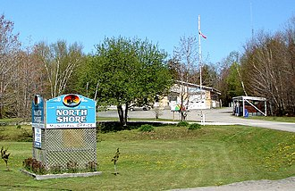 The North Shore, Ontario - North Shore municipal offices.