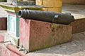 Northern Cannon - Palace Courtyard - Bhukailash Rajbati Estate - Kidderpore - Kolkata 2016-01-24 9241.JPG