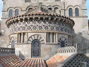 Basilica of Notre-Dame du Port - Chevet and mosaics