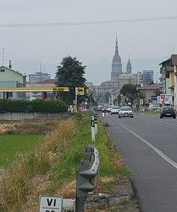 La statale 11 alle porte di Novara