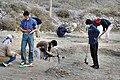 November 2007-Archaeologists of Hazara University excavating Gankorini-o-Take, Chitral - panoramio (1).jpg