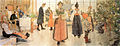 Now is it Christmas again (1907) by Carl Larsson.jpg