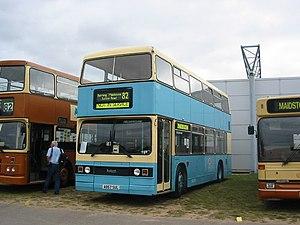 Nu-Venture - Image: Nu Venture fiesta blue Maidstone Centenary bus