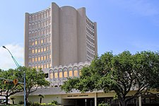 The Nueces County Courthouse in Corpus Christi