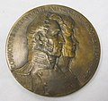 O7-252-A Medal, Commemorative, Battle of Plattsburgh, War of 1812, Obverse (4627445728).jpg