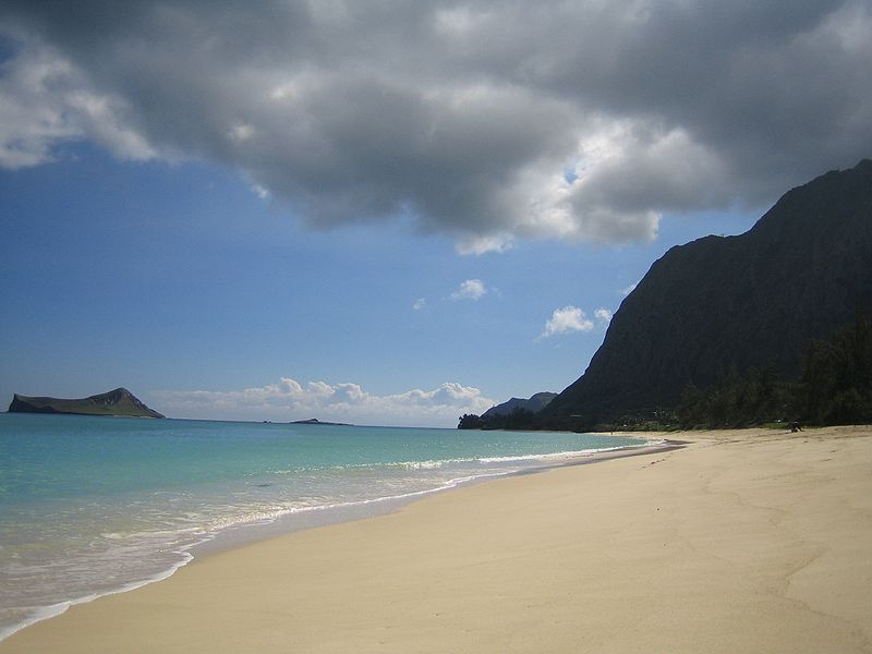 File:Oahu windward side beach.jpg