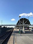 Oakland Coliseum Amtrak Station looking towards CP 66th Ave and Oakland-Jack London Square Station.jpg