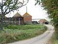 Oast House at Crutches Farm, Hastings Road, Winchelsea, East Sussex - geograph.org.uk - 575687.jpg