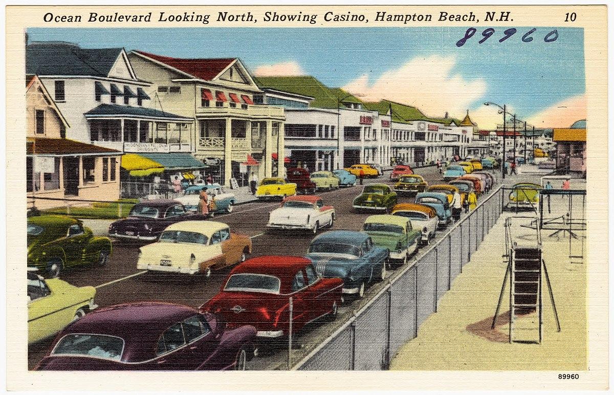 Ocean Boulevard And Casino At Hampton Beach New Hampshire