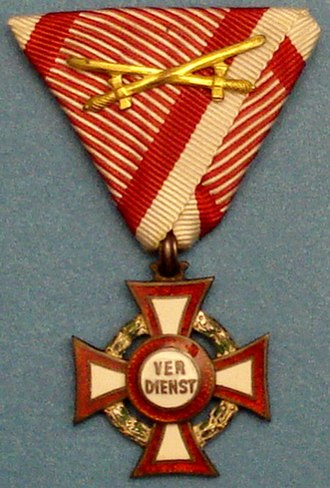 Military Merit Cross (Austria-Hungary) - Military Merit Cross 3rd Class with War Decoration and Swords