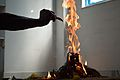 Offering of Ghee into Yajna Agni - Howrah 2012-12-16 2088.JPG