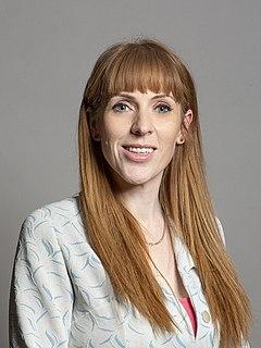 Angela Rayner British Labour politician
