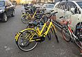 Ofo and Mobike bicycles at Dongdan (20161223160727).jpg