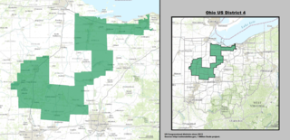 Ohios 4th congressional district American political district