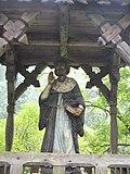 Ojców, park zamkowy, figura św. Jana Kantego.jpg