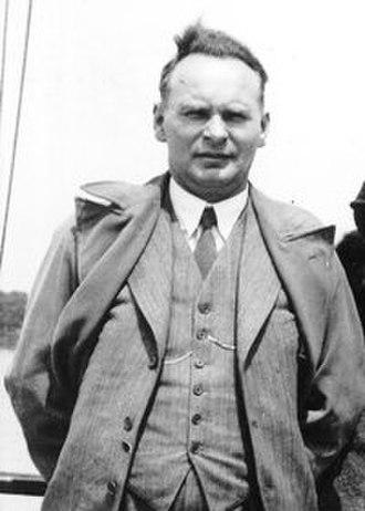 Olav Hindahl - Olav Hindahl at the International Labour Conference in Geneva, Switzerland, 1935.