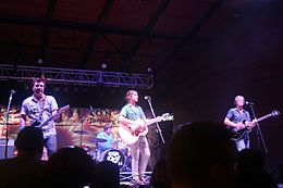 Old 97s, Arlington, Texas - Levitt Pavilion, Memorial Day weekend 2013.jpg
