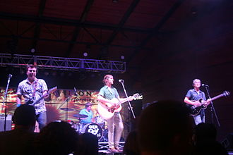 Old 97's - The Old 97's performing at the Levitt Pavilion in central Arlington, Texas in 2013