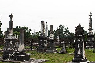 Old City Cemetery (Columbus, Georgia) - Linwood Cemetery in May 2014